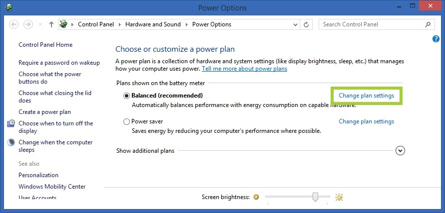 Setting Power Management for Intel® Wireless Adapters