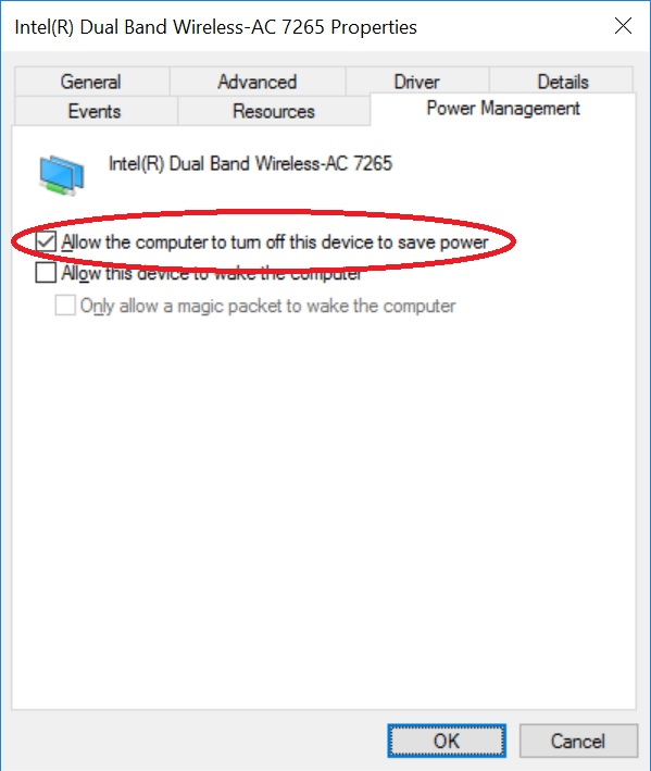 how to change wireless band settings on windows