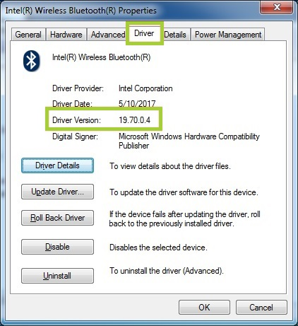 bluetooth driver windows 7 professional 64 bit
