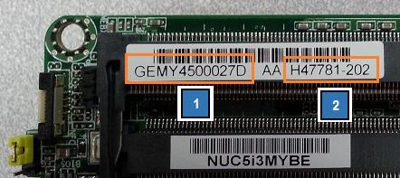 Intel® NUC Board