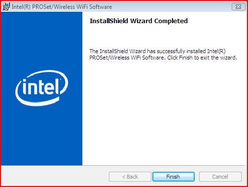 Intel® PROSet Wireless with Intel® My WiFi Technolgoy