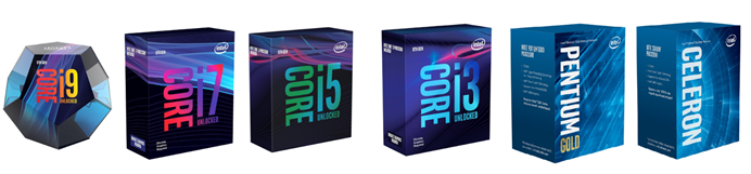 Intel Boxed Desktop Processors