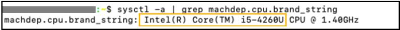 MAC OS command line
