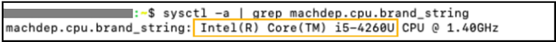 MAC OS Befehlszeile