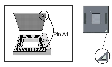socket and see instructions