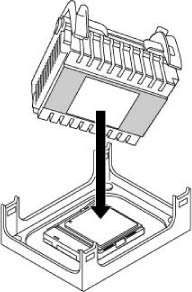Align Fan Heatsink and Clip Assembly