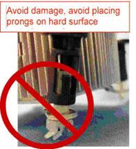 Fan heat sink handling step 2