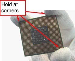 Removing processor image