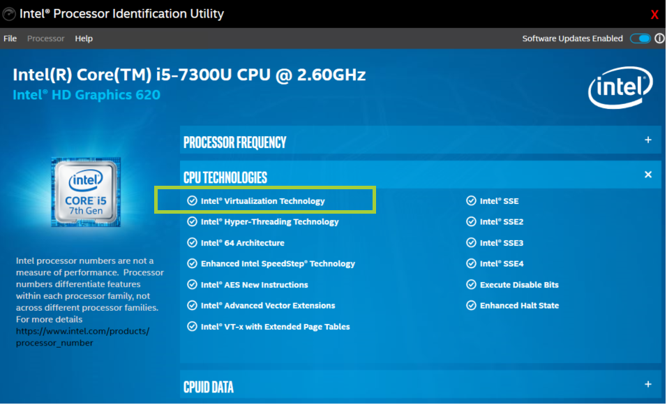 Does My Processor Support Intel® Virtualization Technology?