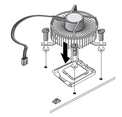 Processor Installation step 7