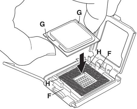 Processor Installation step 5