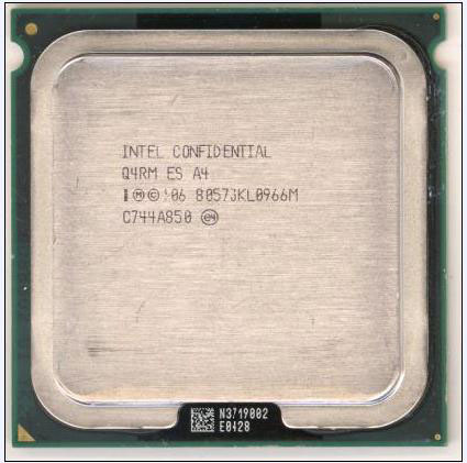 Unmarked Intel ES processor