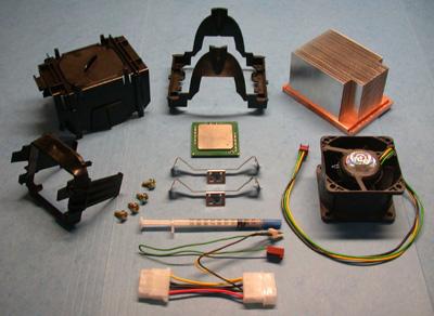 Figure 1: Boxed Intel Xeon Processor Components