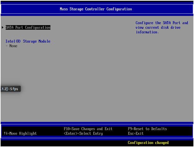 Intel ESRT-2 SATA/SAS Update