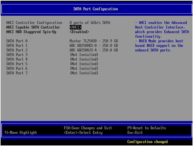 Creating a RAID 5 in Intel® Embedded Server RAID Technology