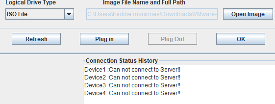 How to Fix Error: Device 1 :Can not connect to Server!!