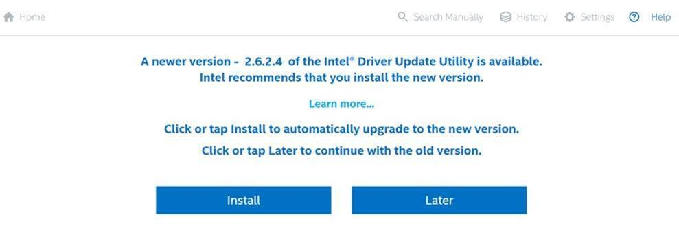 Does Download The Intel Driver & Support Assistant Application Work