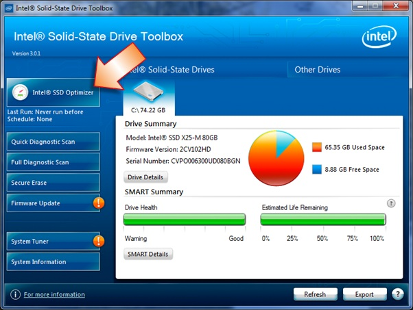 how to read data on ssd not initialized