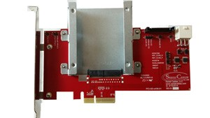PCIe 25 adapter