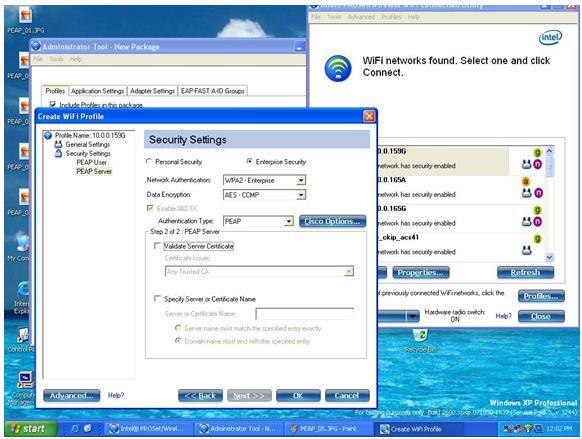 Select Intel® PROSet/Wireless Tools