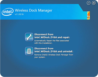 Intel® Wireless Dock Manager