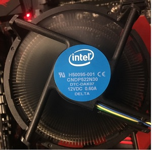 Ventilateur Intel BTX