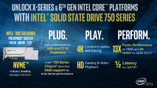 Unlocked 6th Gen & Intel® Core™ with Intel® SSD 750 – Better Together