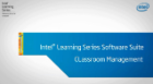Gerenciamento de aula - Suite de Software Intel® Learning Series