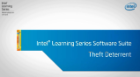 Inibidor de furtos  do suite de software Intel® Learning Series