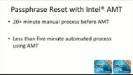 Encrypted Hard Drives, Intel® AMT