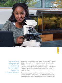 Intel STEM Education Resources for K-12 Educators
