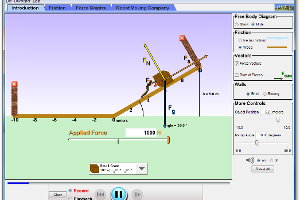 PhET Simulation: Ramp Forces and Motion