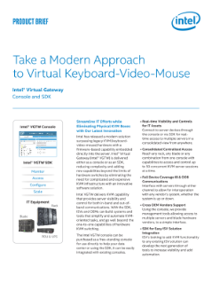 Take a Modern Approach to Virtual Keyboard Video Mouse