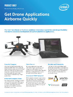 Intel® Aero Ready to Fly Drone Product Brief