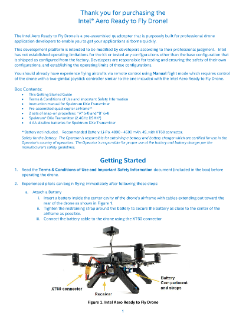 Get Airborne Quickly—Intel® Aero Ready to Fly Drone Start Guide