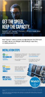 Intel® Optane™ Memory: Installation Guide