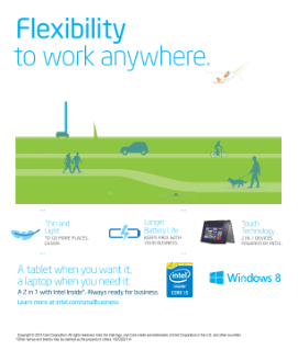 2 in 1 Flexibility to Work