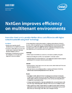 NxtGen Alleviates Network Bottlenecks, Improves Efficiency