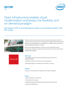 TIVIT's Flexible, Modern Cloud Infrastructure