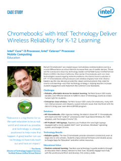 Case Study: School District Finds Wireless Reliability for K-12