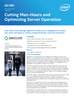 Cutting Man-Hours and Optimizing Server Operation