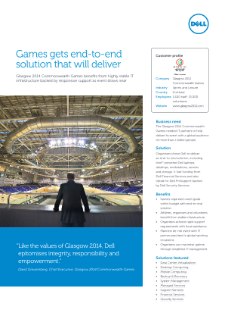 Data Center Efficiency Dell Glasgow Games Case Study