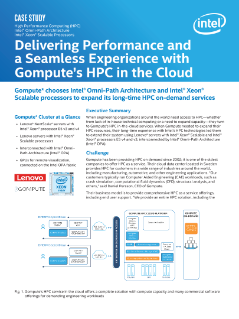 Gompute: Delivering HPC in the Cloud