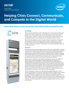 Helping Cities Connect, Communicate, and Compete in the Digital World