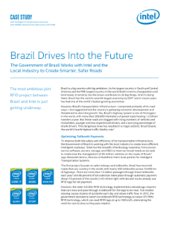 Brazil and Intel Use RFID Technology to Build Smarter, Safer Roads