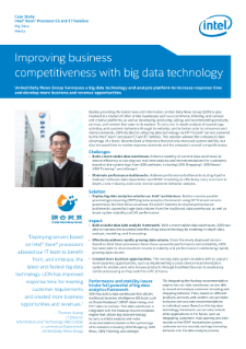 Improving Business Competitiveness with Big Data