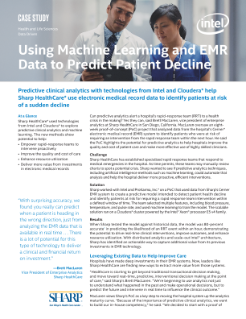 Predict Patient Decline Using Machine Learning and EMR Data