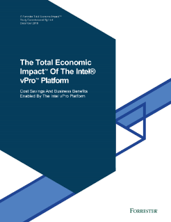 Economic Impact of the Intel vPro® Platform