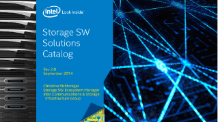 Storage Software Solutions Catalog
