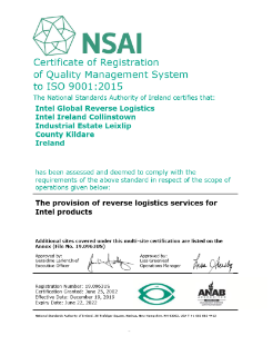 Post Sales Support ISO 9001:2015